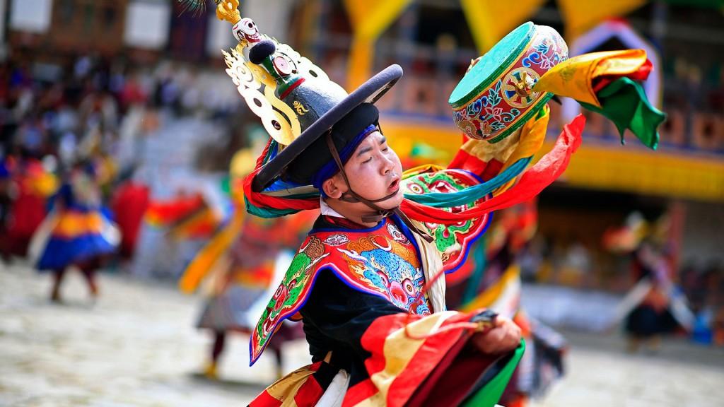 Bhutan Tsechu Festival