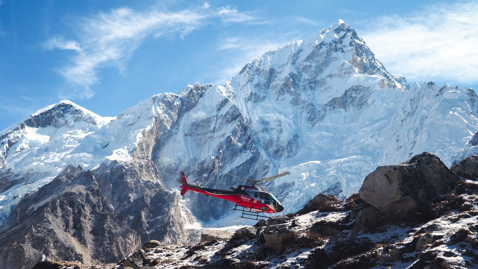 Mount everest helicopter tour