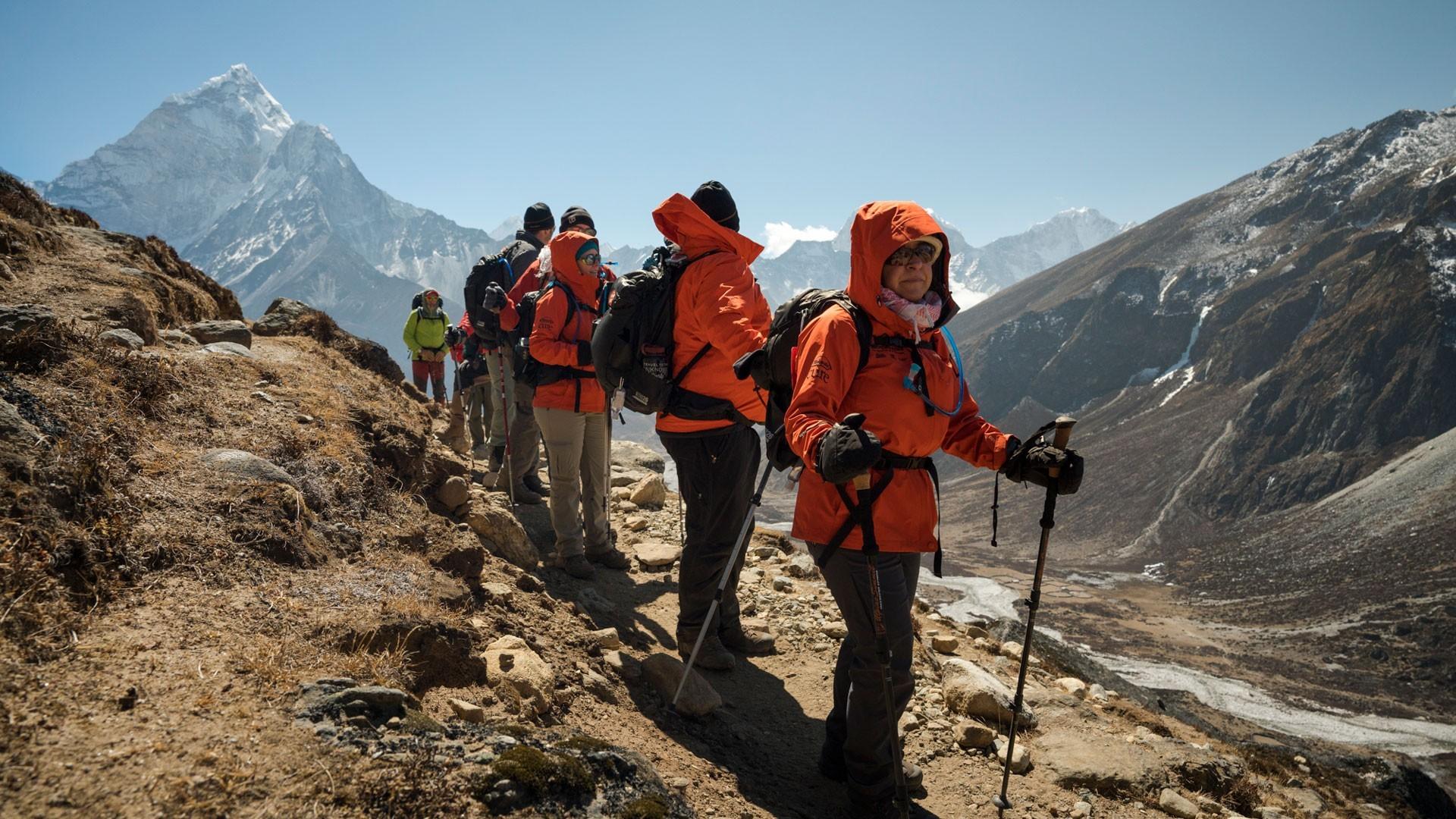 Everest three high pass trek